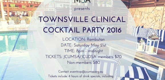 Townsville Clinical Cocktail Party