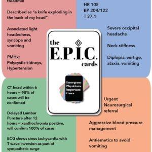 EPIC Flashcards Set – MD3012 EM