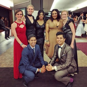 JCUMSA Executive at AMSA Convention Gala Ball